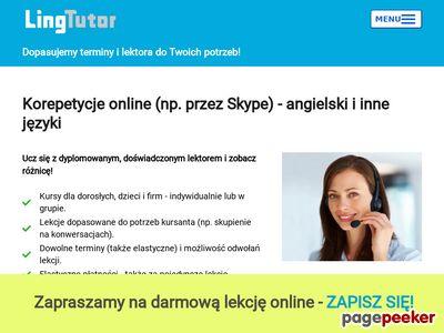 Korepetycje online przez Skype