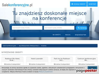Sale konferencyjne Kraków