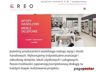 Kreo-market.pl - produkcja wyposażenia sklepowego