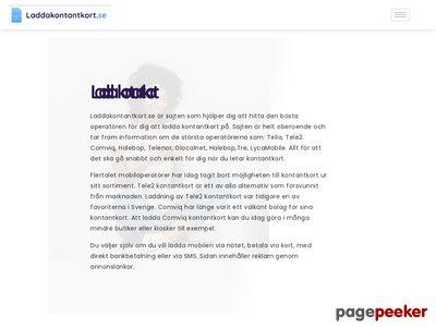 Laddakontantkort.se - http://www.laddakontantkort.se