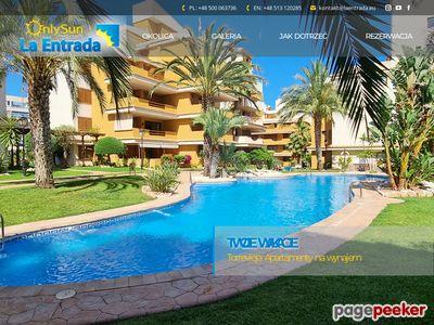 Hiszpania Wakacje Apartamenty Noclegi