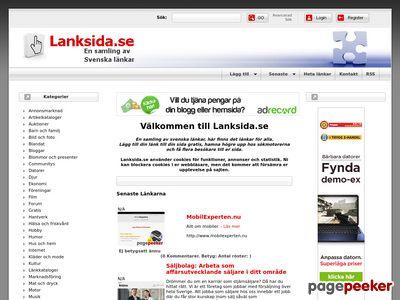 Lanksida.se - http://www.lanksida.se