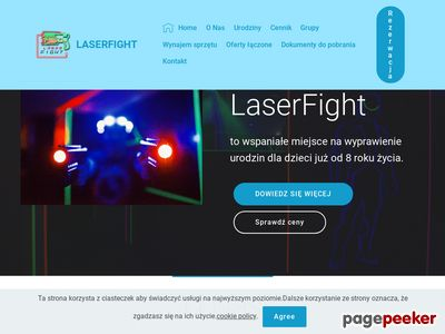 Laser Fight - Laserowy Paintball - Bydgoszcz