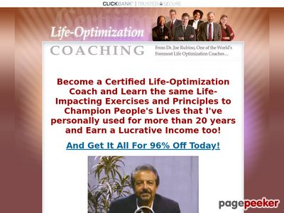 Best Certified Life Coaching Program, Life Coach Certification Online - lifeoptimizationcoaching.com 1