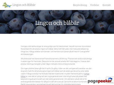 Lingon & Blåbär barnkläder och babykläder - http://www.lingonochblabar.se