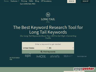 Long Tail Pro: Keyword Research Software Long Tail Pro: Keyword Research Software www
