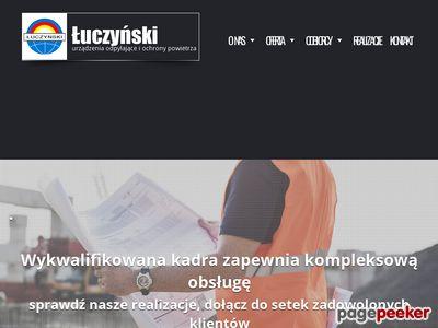 ZUO Łuczyński - Urządzenia odpylające, przenośniki kubełkowe