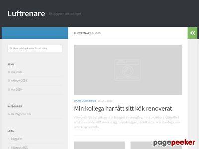 Luftrenare - http://www.luftrenarenu.se