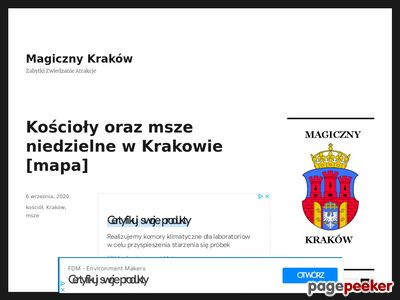 Ferie Kraków.
