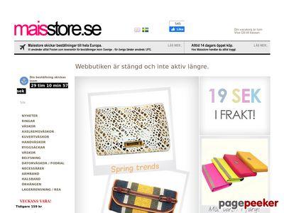 Maisstore - V�skor och accessoarer f�r kvinnor - http://www.maisstore.se