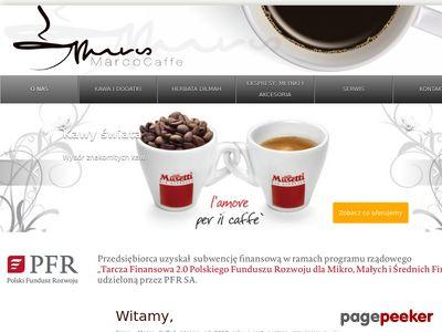 Ekspresy do kawy - Marco Caffe