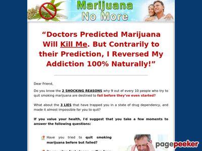 Marijuana No More 1