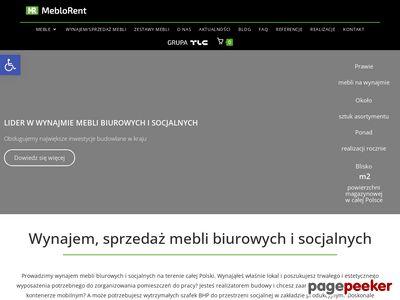 MebloRent - sprzedaż i wynajem mebli biurowych