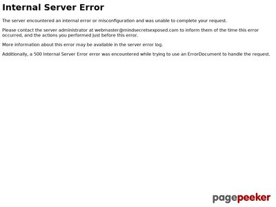 Mind Secrets Exposed 2.0 Relaunching 5th To 12th March 2013 www