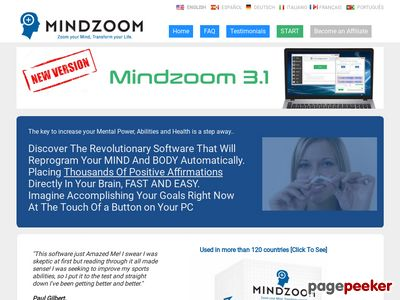 Self Help Using Subliminal Messages - MindZoom - 1