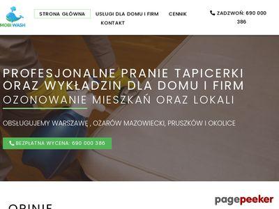 Czyszczenie wykładzin - Mobi Wash