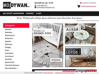 Sklep internetowy dywany
