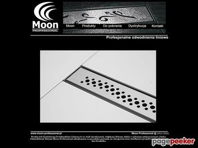 Odpływy i odwodnienia liniowe Moon Professional