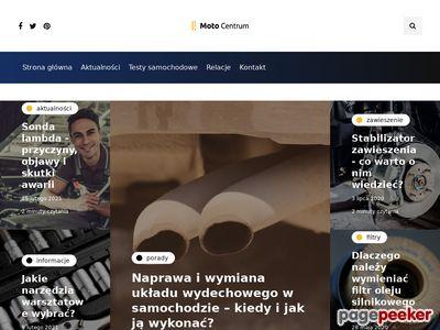 Artykuły o motoryzacji w Moto-Centrum.pl