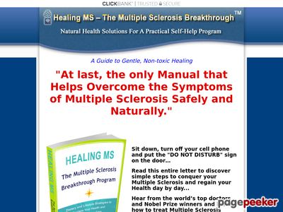 *Healing MS* - The Multiple Sclerosis Breakthrough 1
