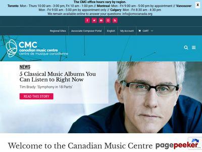 加拿大音乐中心