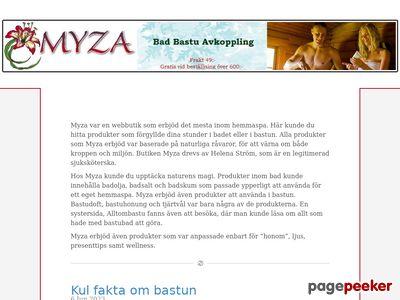 Bad,  bastu,  avkoppling - http://www.myza.se
