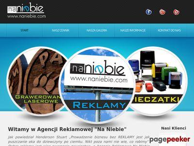 NaNiebie.com - pieczątki i inne gadżety reklamowe Nowy Sącz