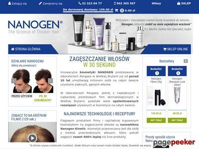 Posypka na włosy - nanogen.pl