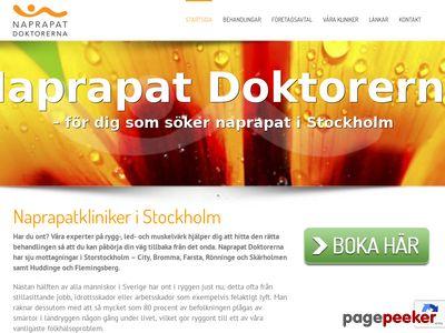 Naprapat Stockholm - http://www.naprapatdoktorerna.se