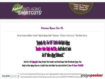 www.naturalantiagingshortcuts - Natural Anti-aging Shortcuts - New High-converting Anti-aging Offer!