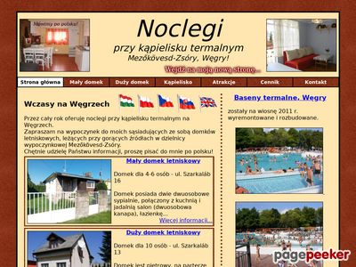 Pokoje gościnne – urlop Węgry