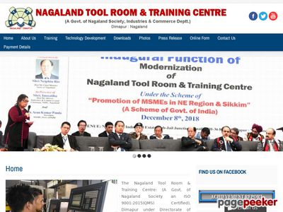 Nagaland Tool Room and Training Centre ,