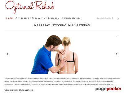 Naprapat kiropraktor på Kungsholmen i Stockholm - http://www.optimalrehab.se