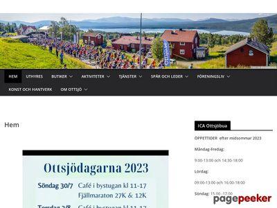 Ottsjö,   stället på fjället,   Åre´s vackraste fjällby - http://www.ottsjo.se