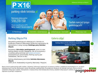 Parking Lotnisko Warszawa