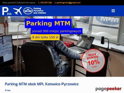 Parking przy lotnisku Katowice - MTM Parking