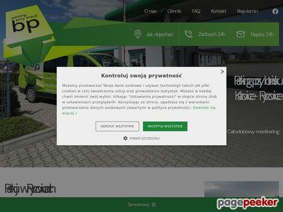 Parking przy Lotnisku Pyrzowice