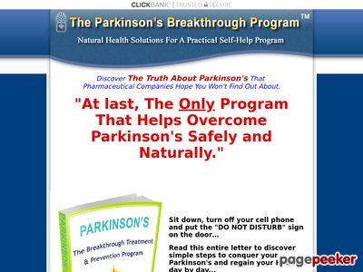 www.parkinsons disease cure