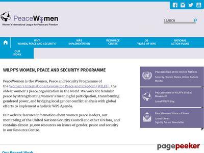 http://www.peacewomen.org