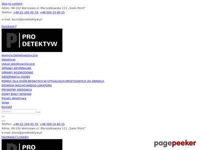 PiT Detektywi - prywatny detektyw Poznań