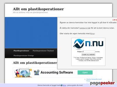 Plastikoperationer - allt du behöver veta om plastikoperationer - http://www.plastikoperationer.n.nu