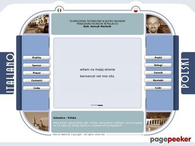 Włoski - tłumaczenia ustne i pisemne dla firm