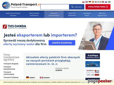 Firmy transportowe, transport