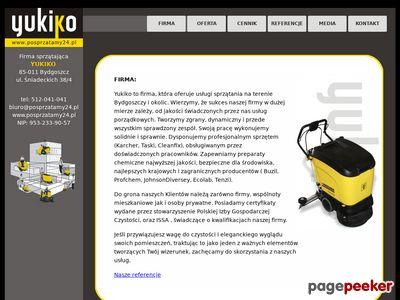 Firma sprzątająca Bydgoszcz. Yukiko posprząta Twoje biuro i dom.