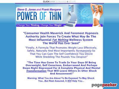Power of Thin :: Steve G. Jones & Frank Mangano 1