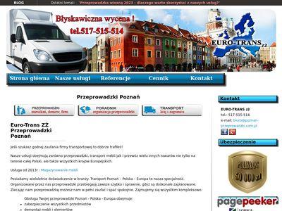 Euro-Trans ZŻ - Przeprowadzki Poznań