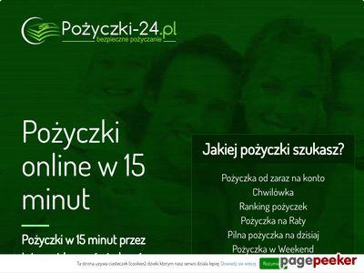 Pożyczka przez internet na konto