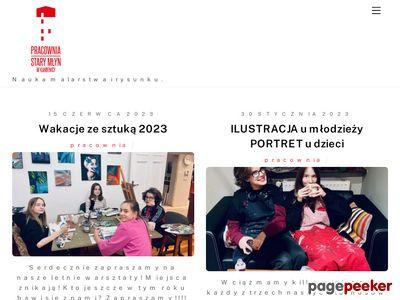 www.pracowniastarymlyn.pl