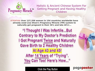 Pregnancy Miracle Video - Get Pregnant In 60 Days 1
