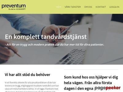 Leverantörer Tandvården Tandläkare & Tandhygienist - Preventum Partner AB - http://www.preventum.nu